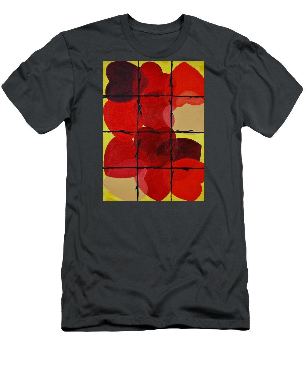 Love T-Shirt featuring the painting Love No Categories Please by Charla Van Vlack