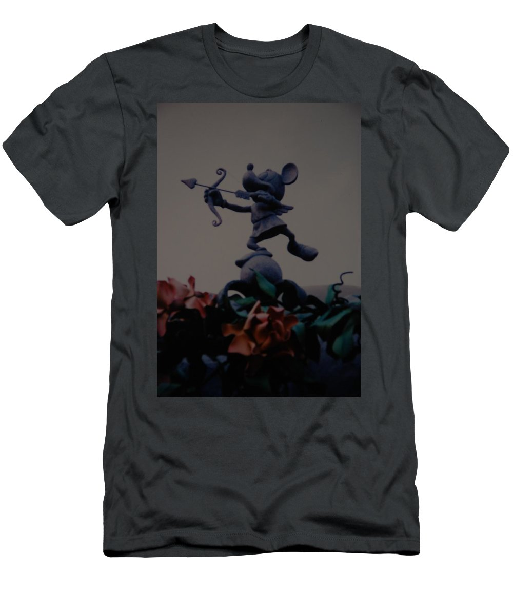 Micky Mouse Men's T-Shirt (Athletic Fit) featuring the photograph Mickey Mouse by Rob Hans