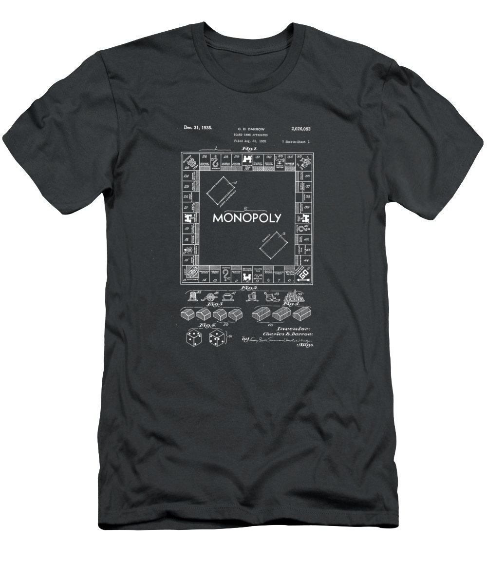 Monopoly Board Game T-Shirts