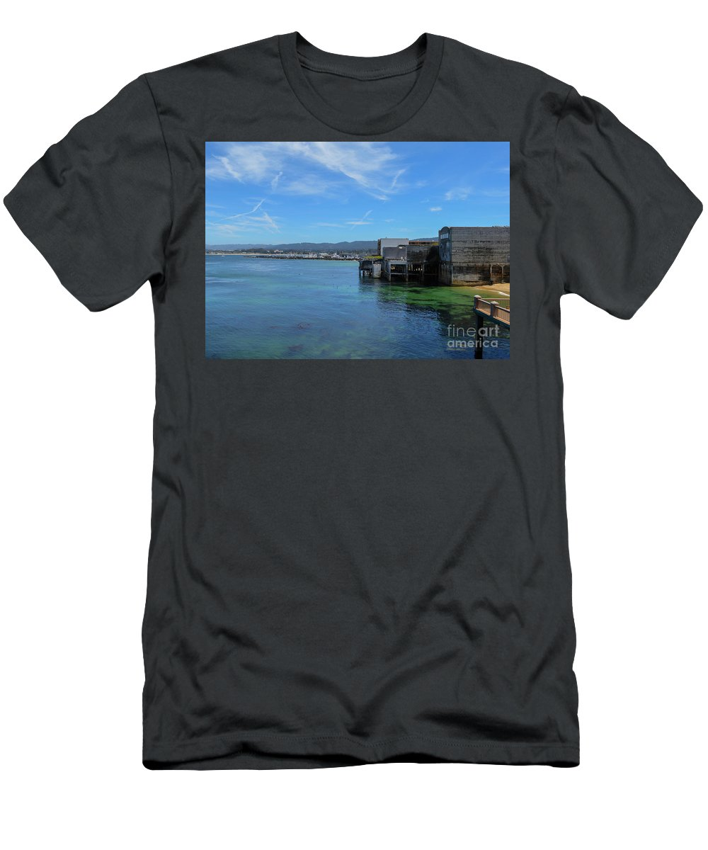 Monterey Men's T-Shirt (Athletic Fit) featuring the photograph Monterey by Brian Stauffer