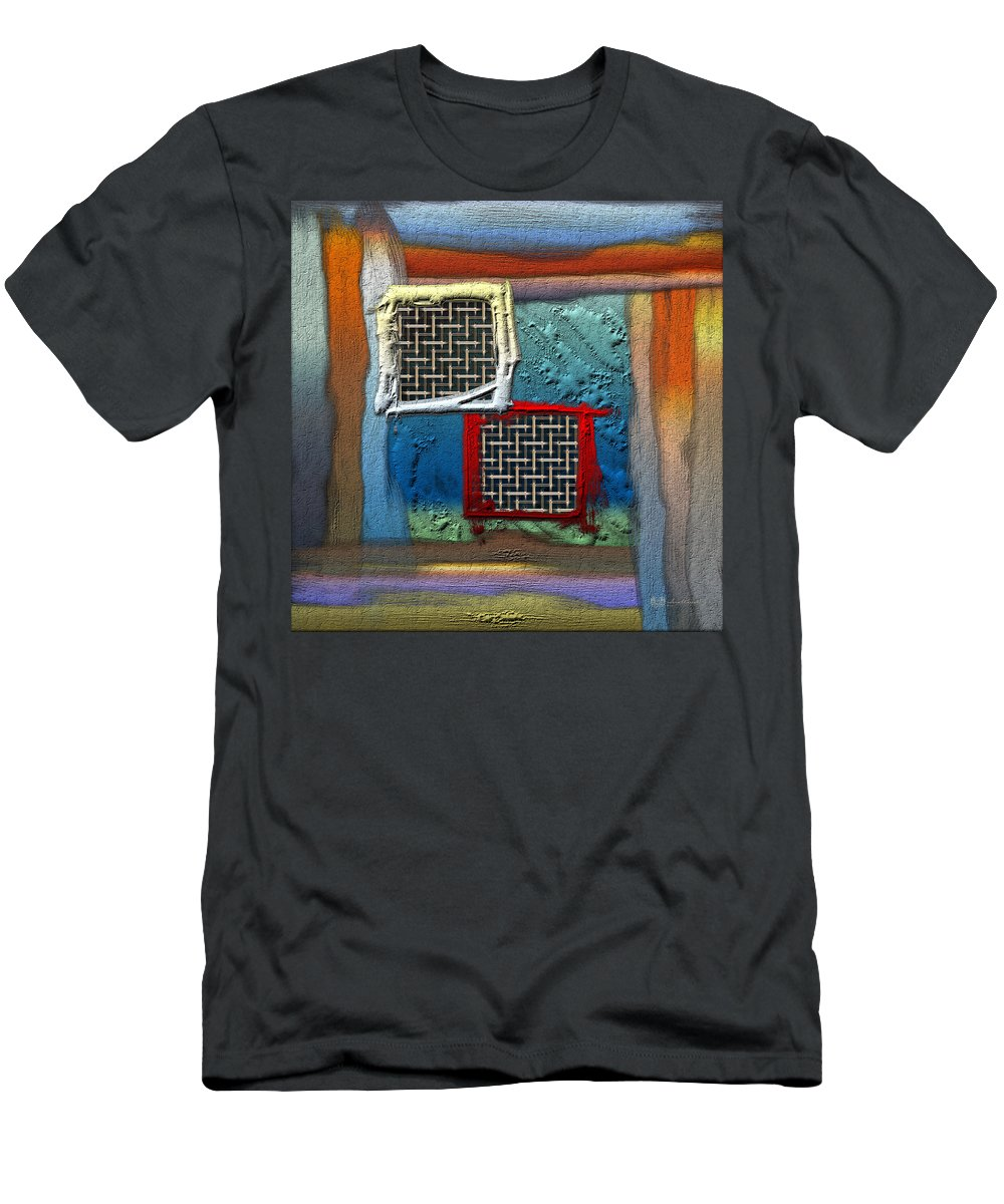 'abstracts Plus' Collection By Serge Averbukh T-Shirt featuring the photograph Obstructed Ocean View by Serge Averbukh