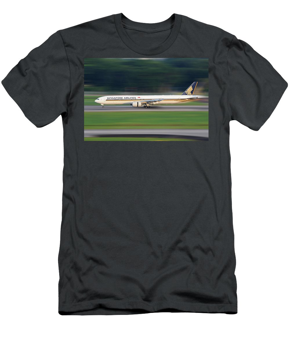 Panning Men's T-Shirt (Athletic Fit) featuring the photograph SQ by Dr Frikkie Bekker