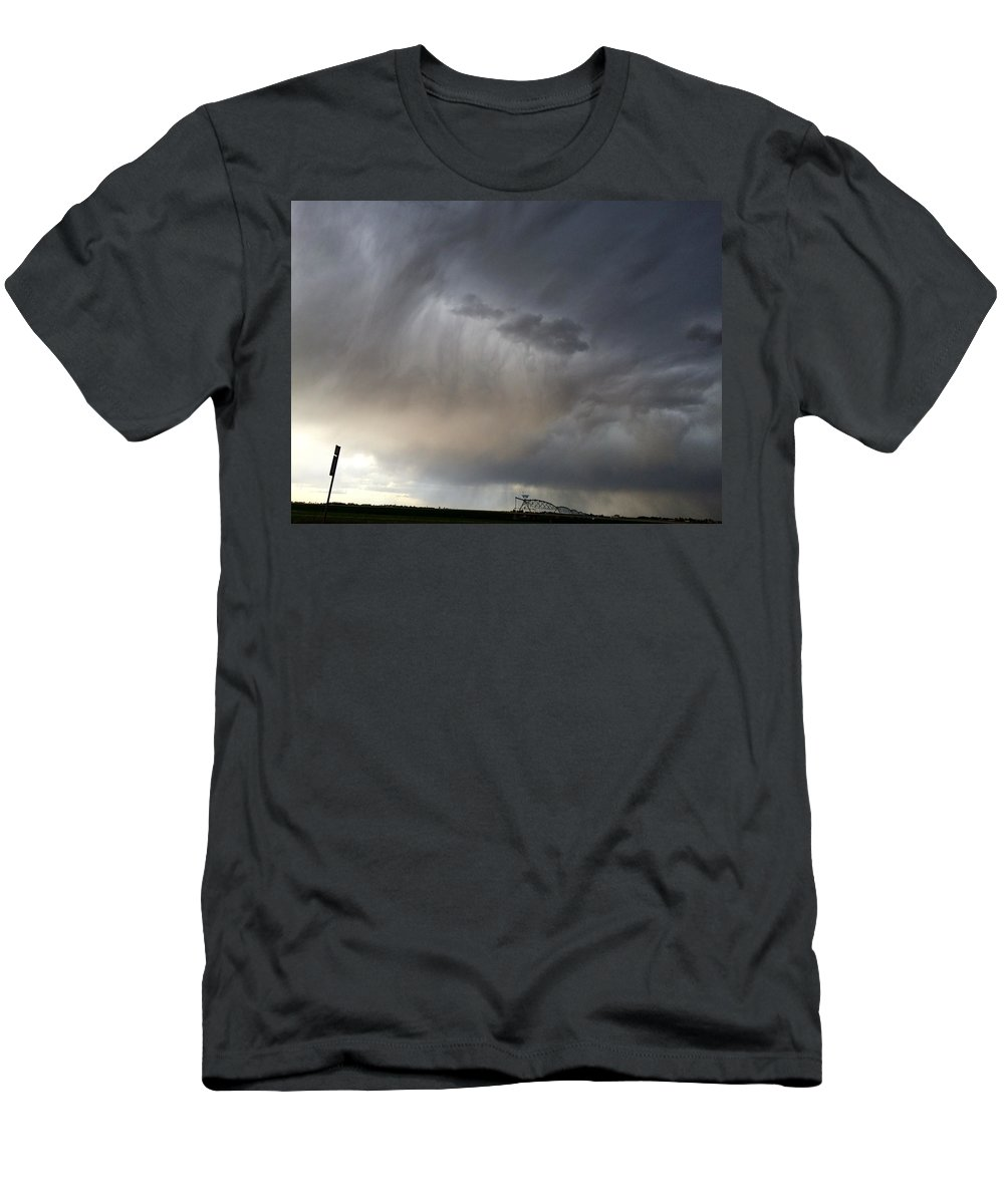 Storm Men's T-Shirt (Athletic Fit) featuring the photograph Storm by Deven Birdwell