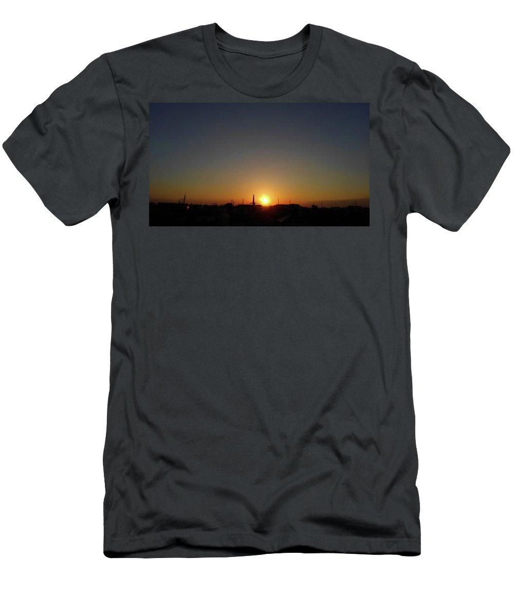 Sunnyday T-Shirt featuring the photograph Sunset by Kumiko Izumi