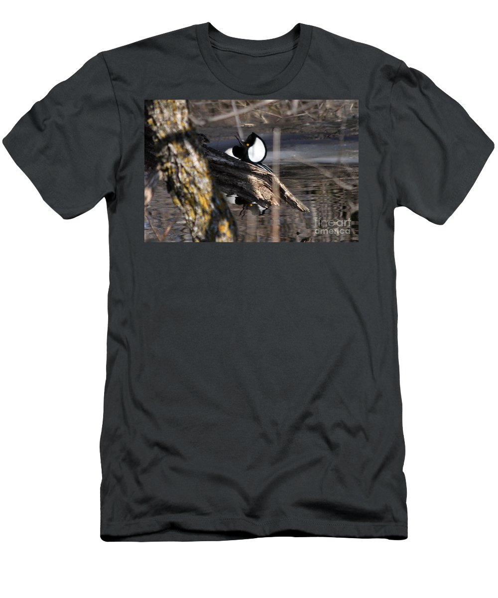Hodded Men's T-Shirt (Athletic Fit) featuring the photograph The Dance by Lori Tordsen