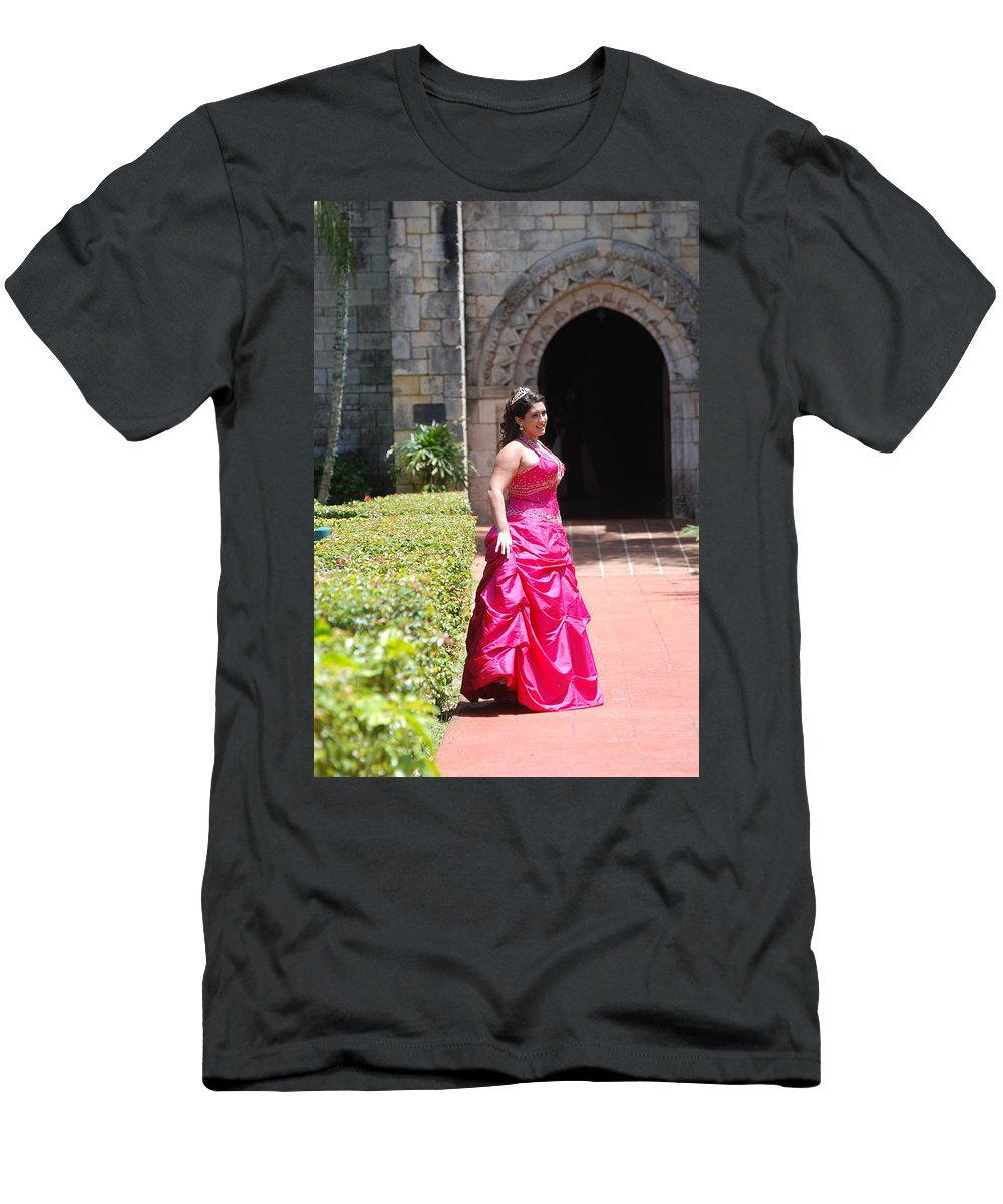 Girl Men's T-Shirt (Athletic Fit) featuring the photograph The Princess by Rob Hans