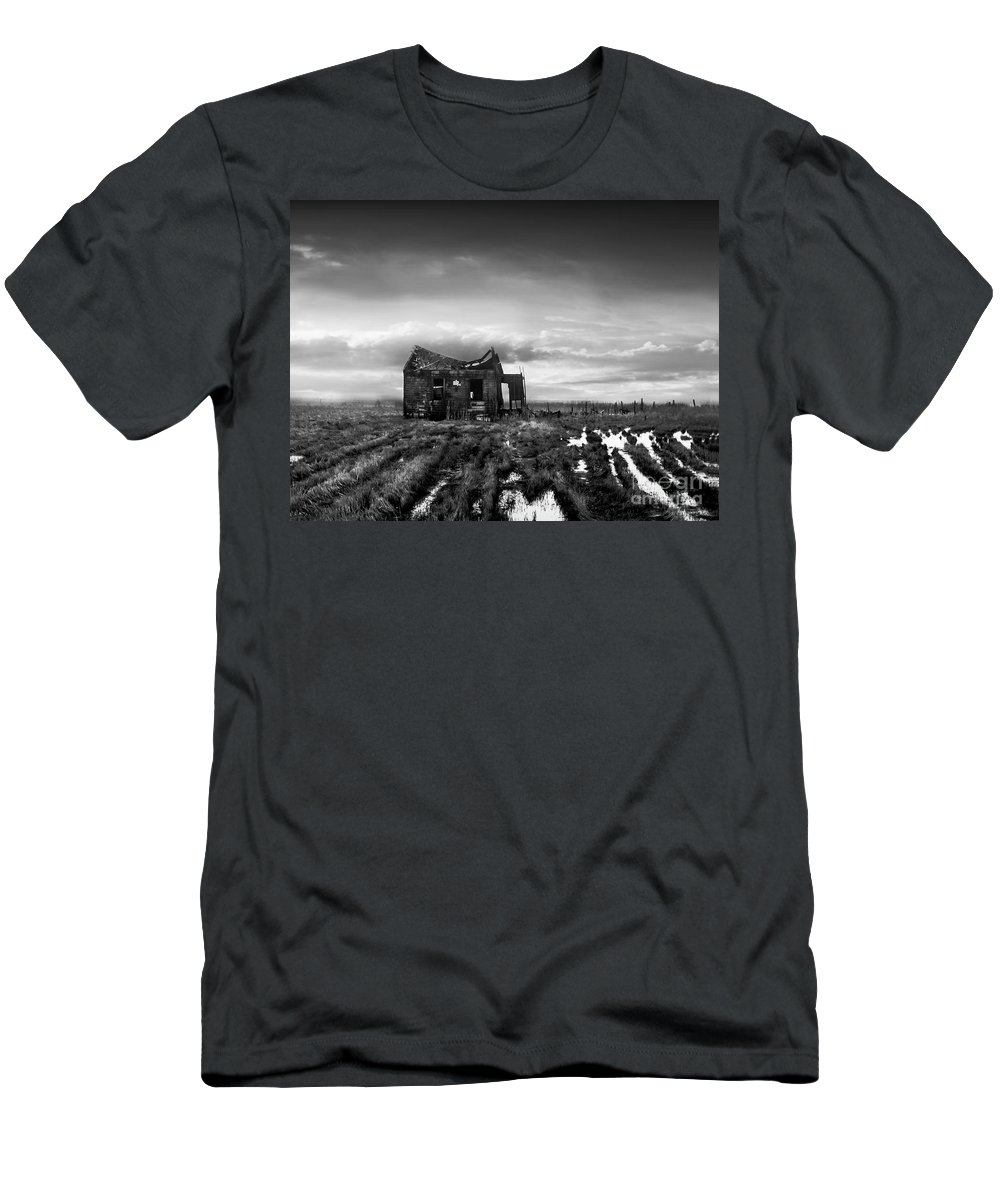 Architecture Men's T-Shirt (Athletic Fit) featuring the photograph The Shack by Dana DiPasquale