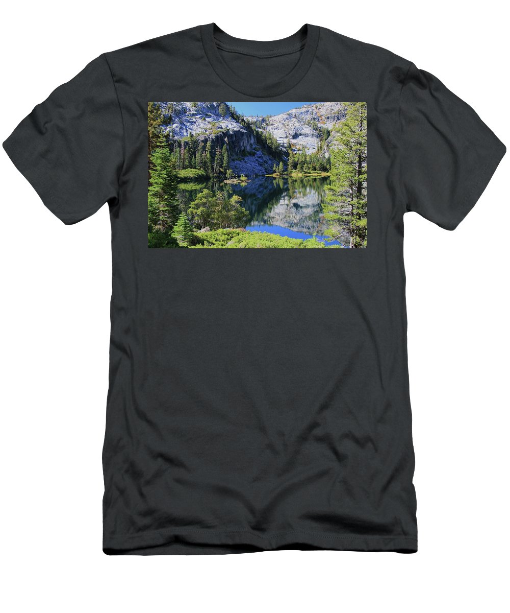 Lake Tahoe Men's T-Shirt (Athletic Fit) featuring the photograph Welcome To Eagle Lake by Sean Sarsfield