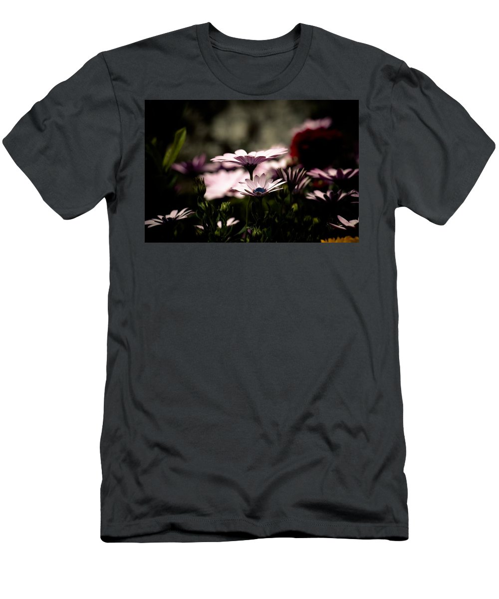 Flower Men's T-Shirt (Athletic Fit) featuring the photograph Wild Flowers by FL collection
