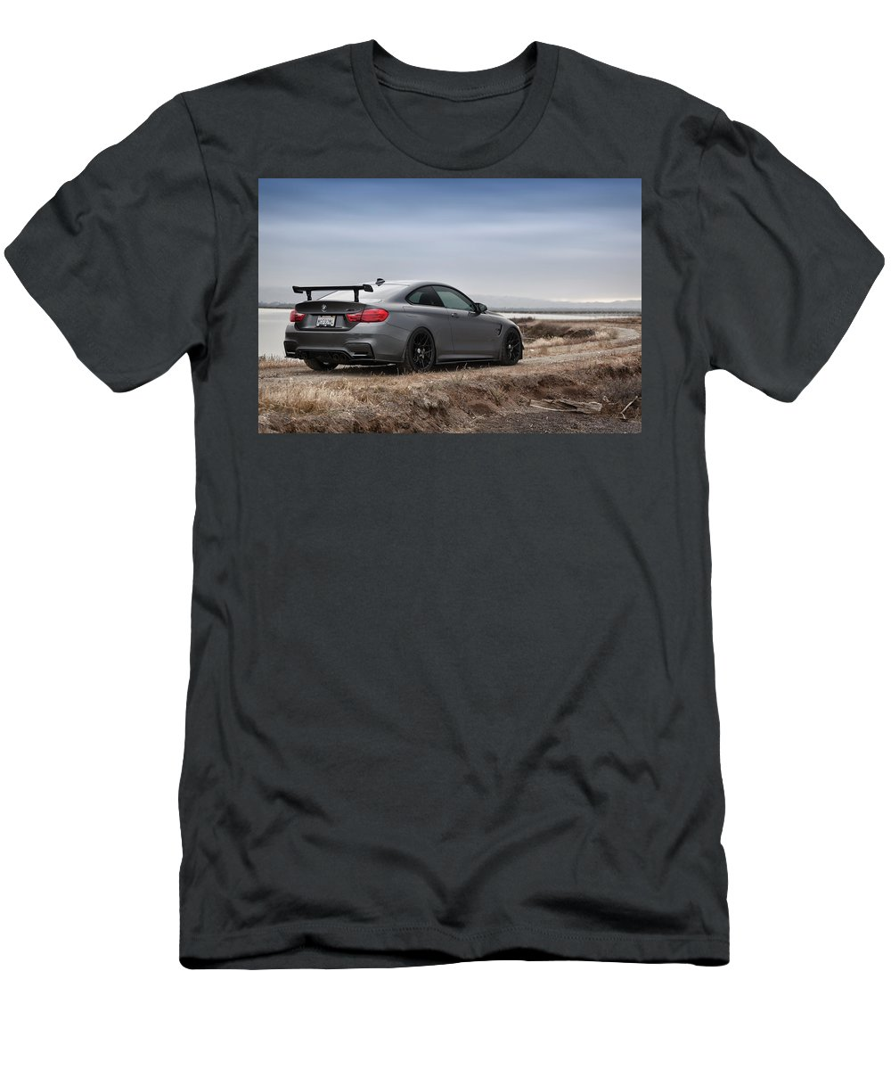Bmw Men's T-Shirt (Athletic Fit) featuring the photograph #bmw #m4 by ItzKirb Photography