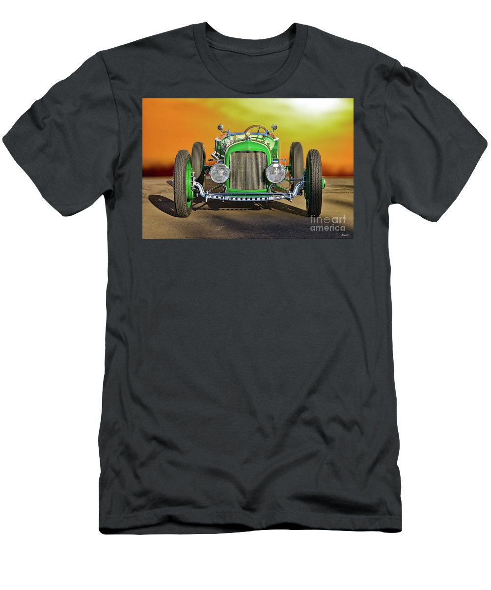 Auto Men's T-Shirt (Athletic Fit) featuring the photograph 1926 Ford Model T 'dry Lakes' Roadster Viii by Dave Koontz
