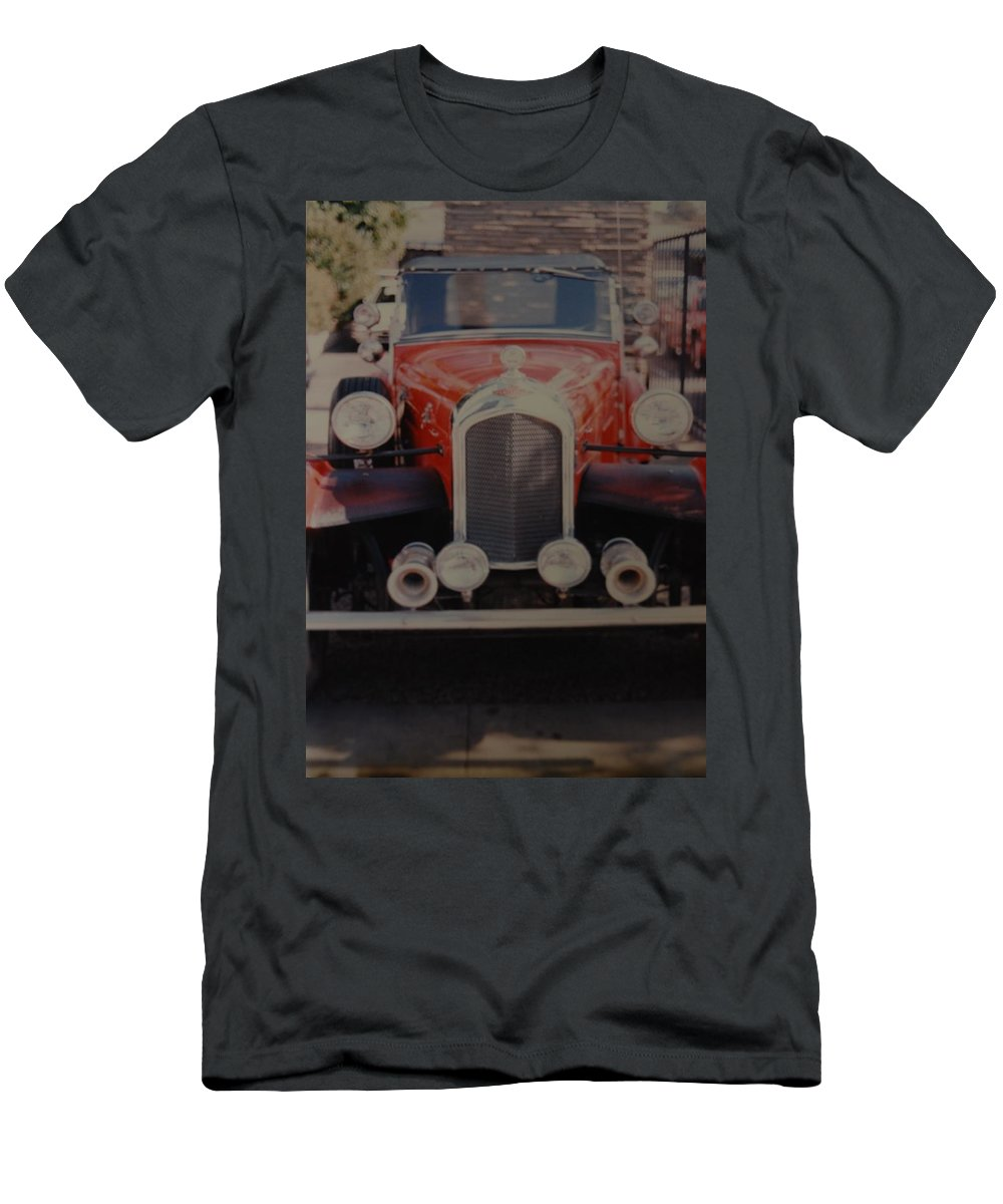 Car Men's T-Shirt (Athletic Fit) featuring the photograph 1932 by Rob Hans