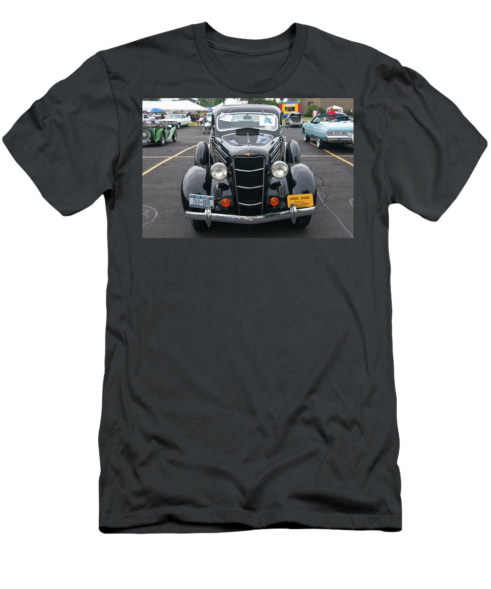 Antique Car Men's T-Shirt (Athletic Fit) featuring the photograph 1935 Dodge 2019 by Guy Whiteley