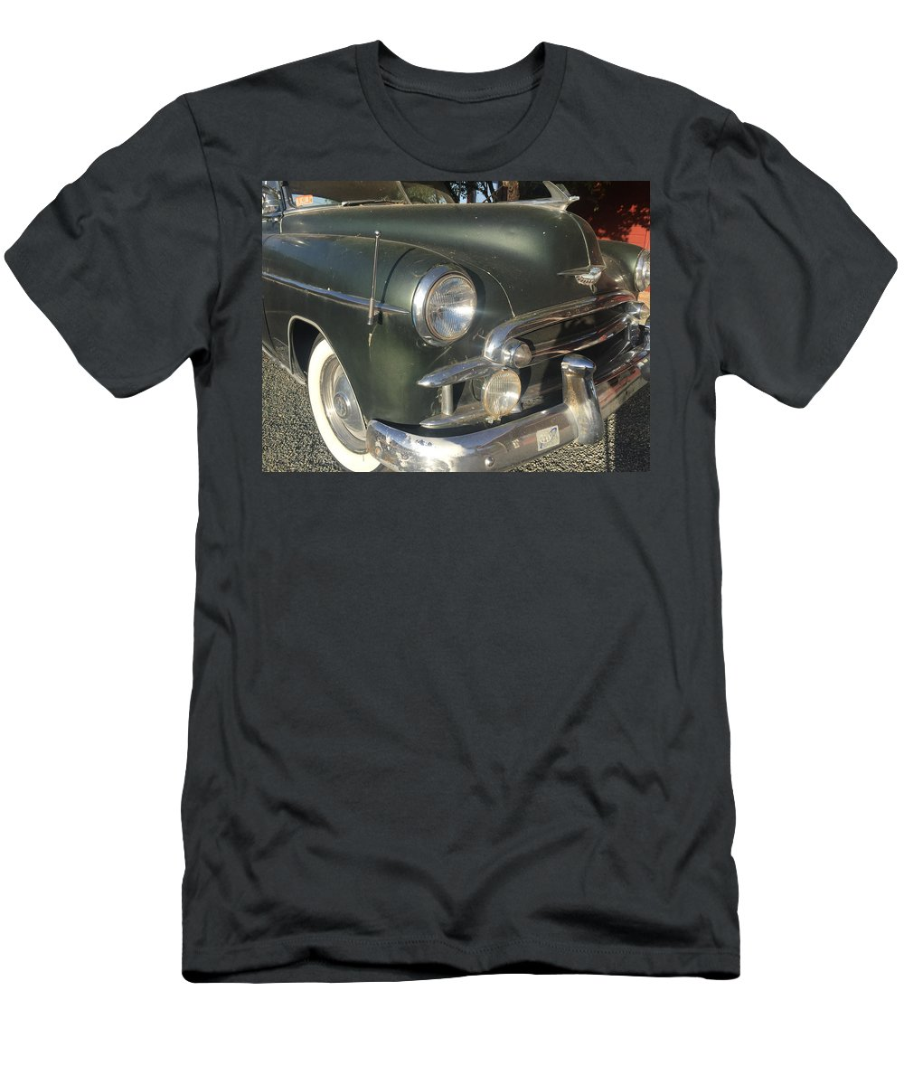 1950 Chevrolet Coupe Men's T-Shirt (Athletic Fit) featuring the photograph 1950 Chevrolet Coupe by Melinda Fawver