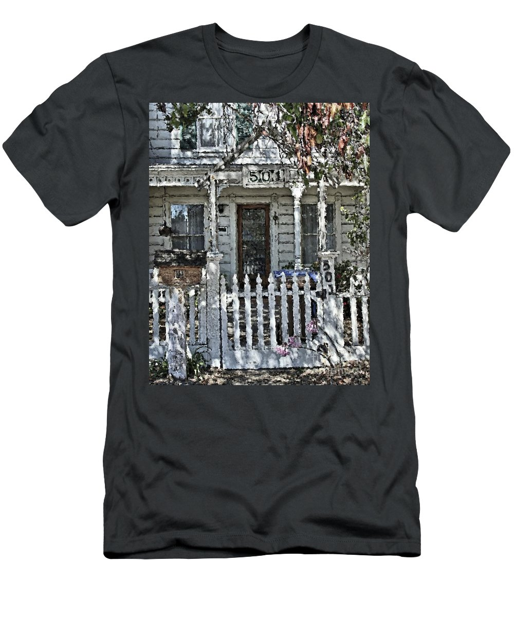 House Men's T-Shirt (Athletic Fit) featuring the photograph A38 by Tom Griffithe