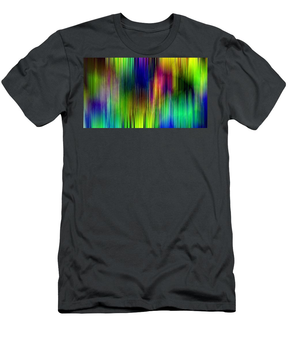 Abstract Urban Art Men's T-Shirt (Athletic Fit) featuring the digital art Cinetism - Abstract by Galeria Trompiz