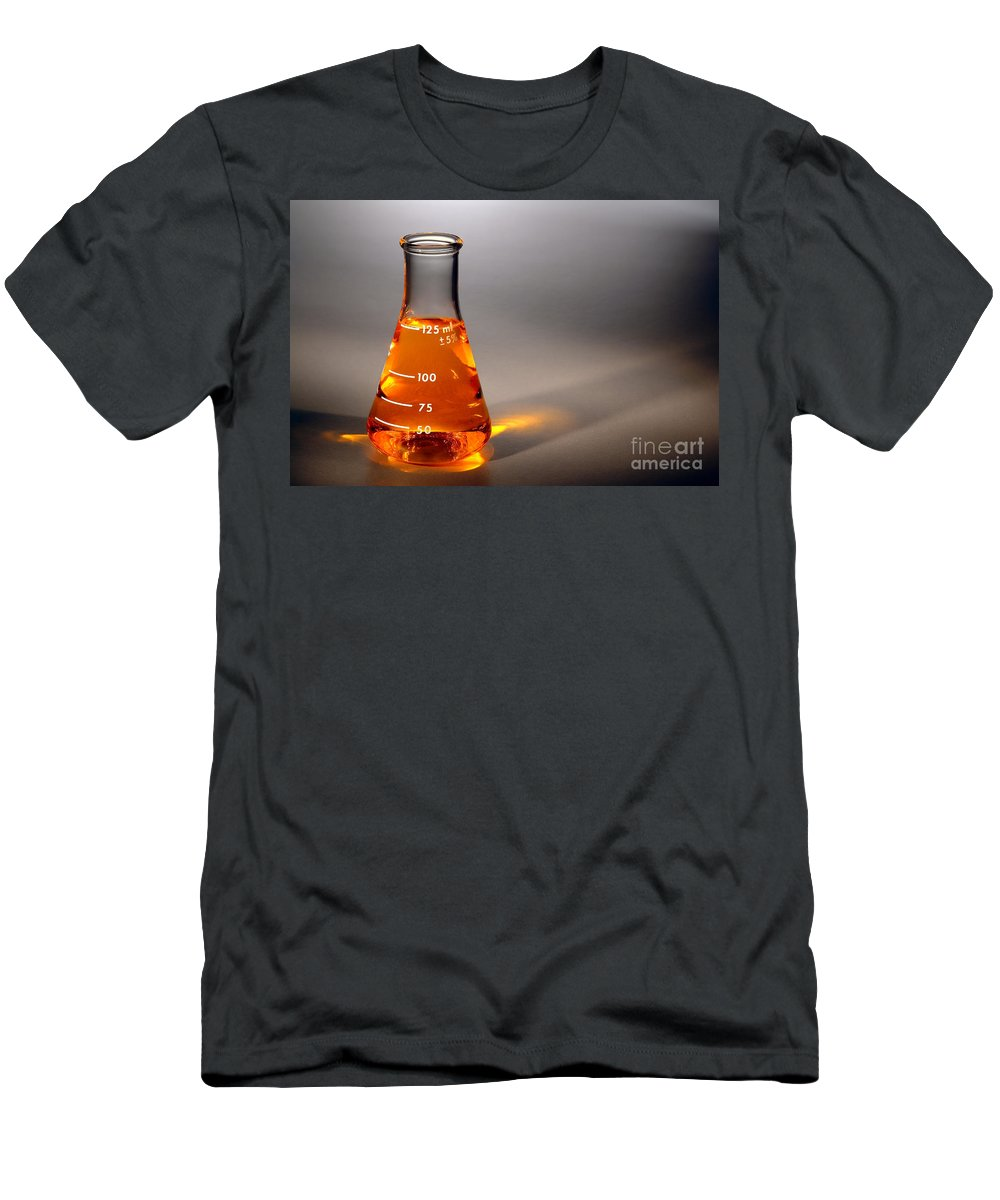 Scientific Men's T-Shirt (Athletic Fit) featuring the photograph Equipment In Science Research Lab by Olivier Le Queinec