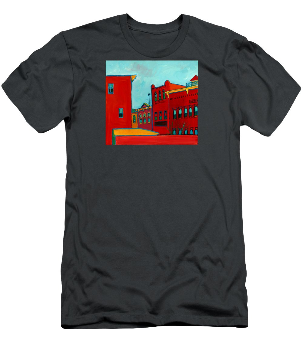 City T-Shirt featuring the painting Opera House by Debra Bretton Robinson