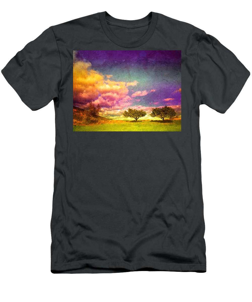 Trees Men's T-Shirt (Athletic Fit) featuring the photograph The Kvr Collection by Tara Turner