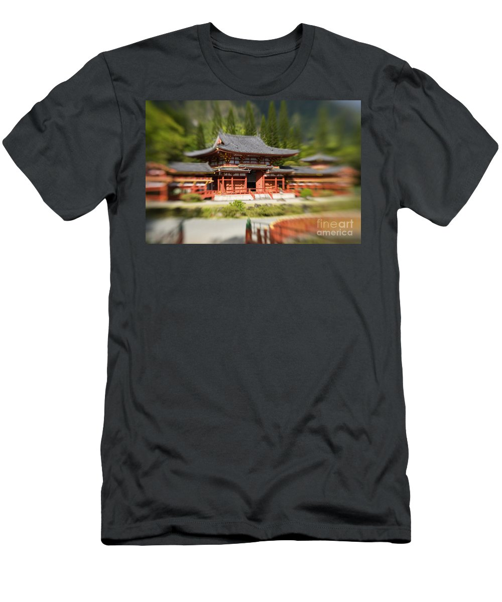 Ahuimanu Valley Men's T-Shirt (Athletic Fit) featuring the photograph Valley Of The Temples by Ron Dahlquist - Printscapes