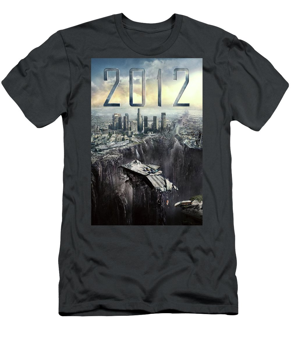 2012 2009 Men's T-Shirt (Athletic Fit) featuring the digital art 2012 2009 by Geek N Rock