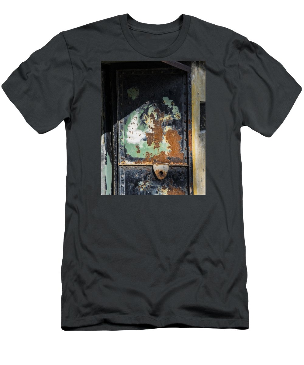 Abstract Men's T-Shirt (Athletic Fit) featuring the photograph 5 by Garth Pillsbury