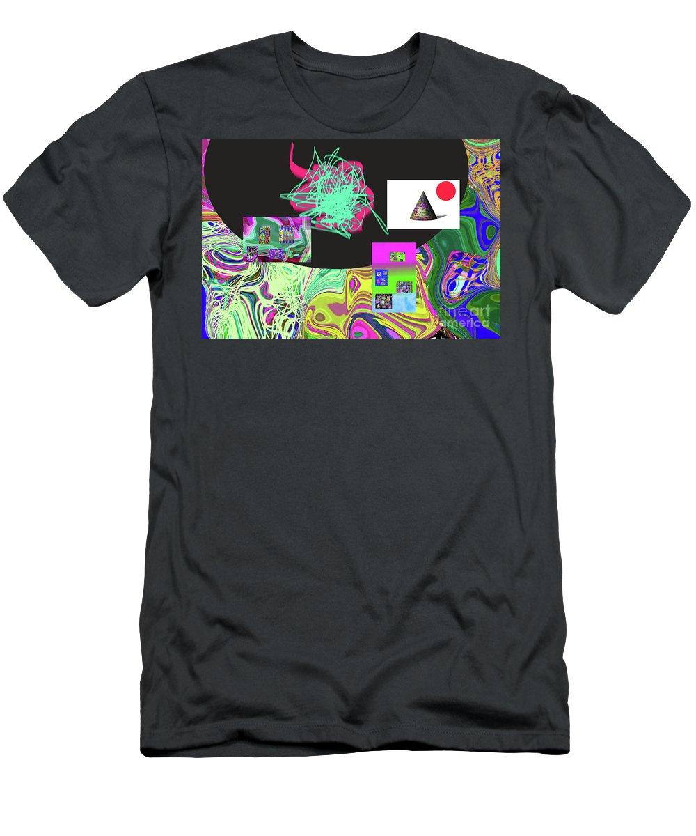 Walter Paul Bebirian Men's T-Shirt (Athletic Fit) featuring the digital art 7-20-2015gab by Walter Paul Bebirian