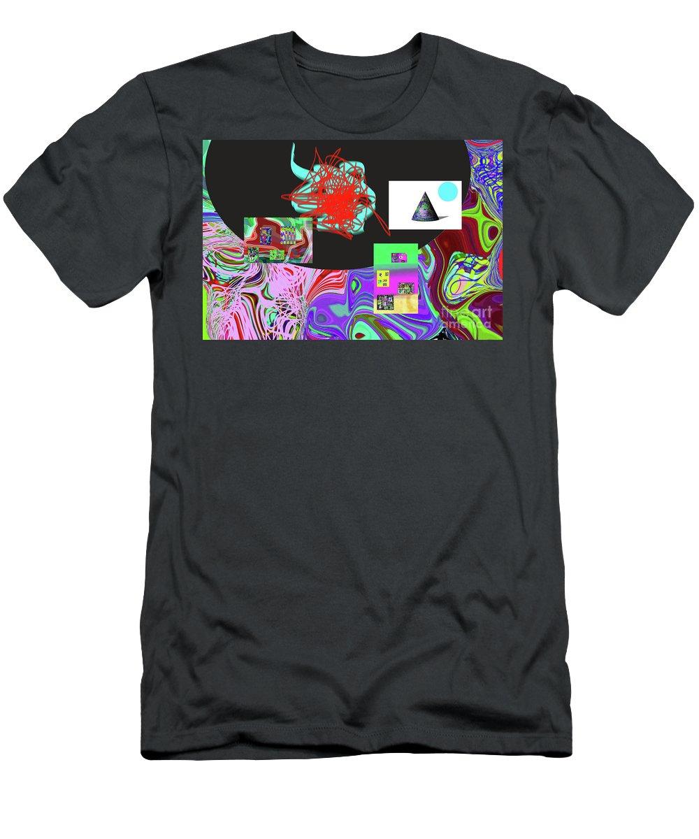 Walter Paul Bebirian Men's T-Shirt (Athletic Fit) featuring the digital art 7-20-2015gabcdefghijklmnopqr by Walter Paul Bebirian