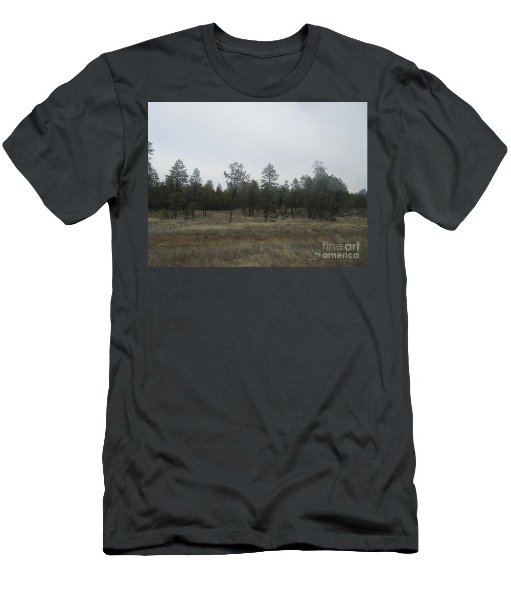 Arizona Men's T-Shirt (Athletic Fit) featuring the photograph Arizona Landscape by Frederick Holiday