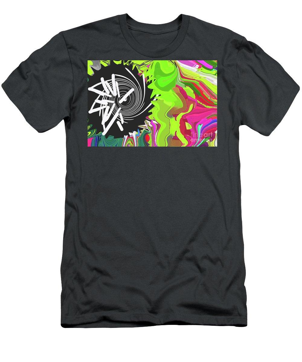 Walter Paul Bebirian Men's T-Shirt (Athletic Fit) featuring the digital art 8-11-2015cabc by Walter Paul Bebirian