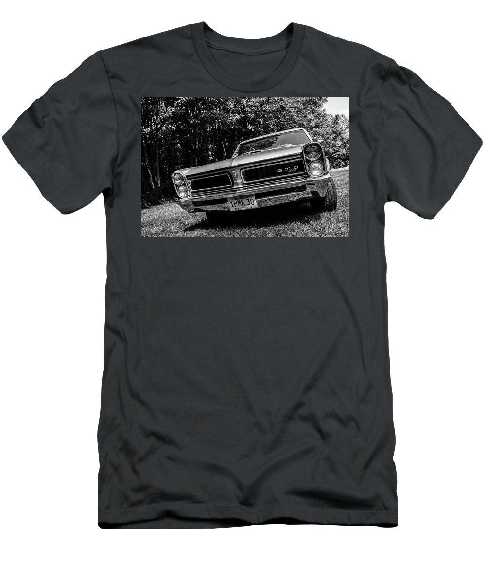 Tempest Men's T-Shirt (Athletic Fit) featuring the photograph Classic Cars by Mickie Bettez