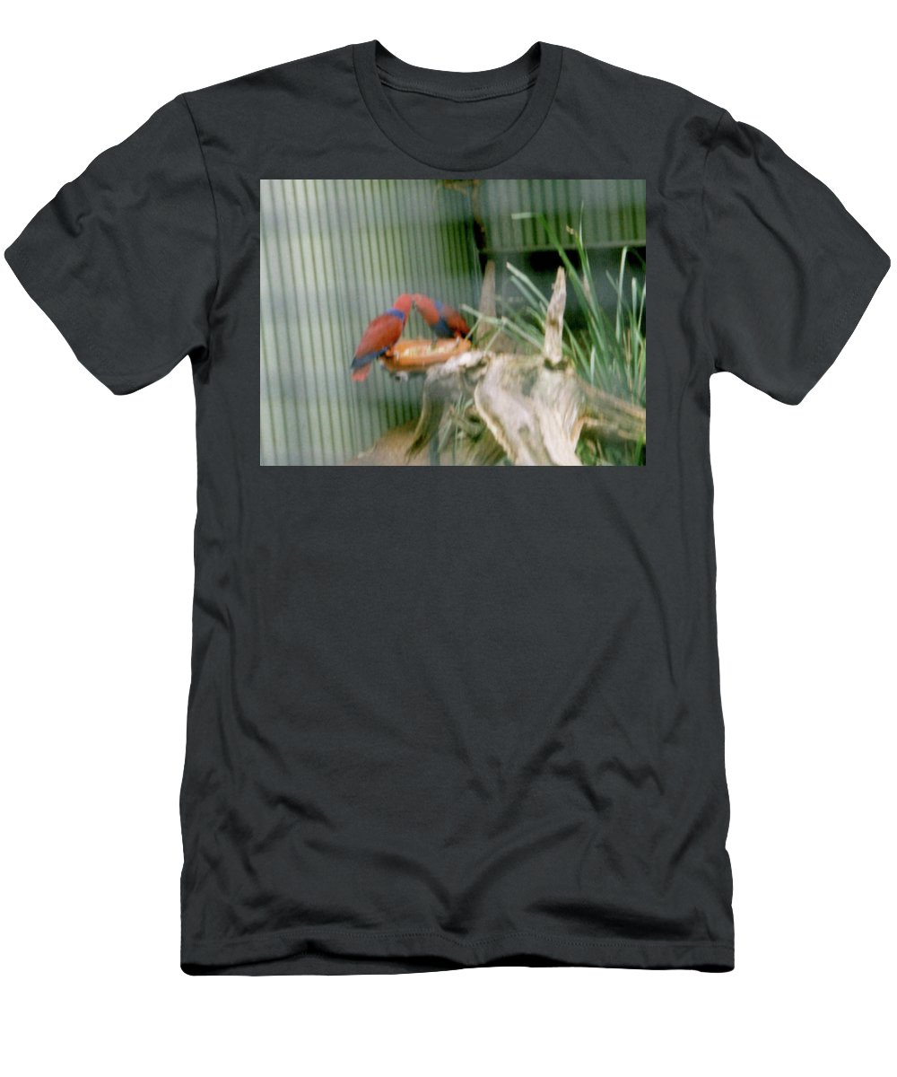 Men's T-Shirt (Athletic Fit) featuring the photograph Australian Native Animals by Peter Halmos
