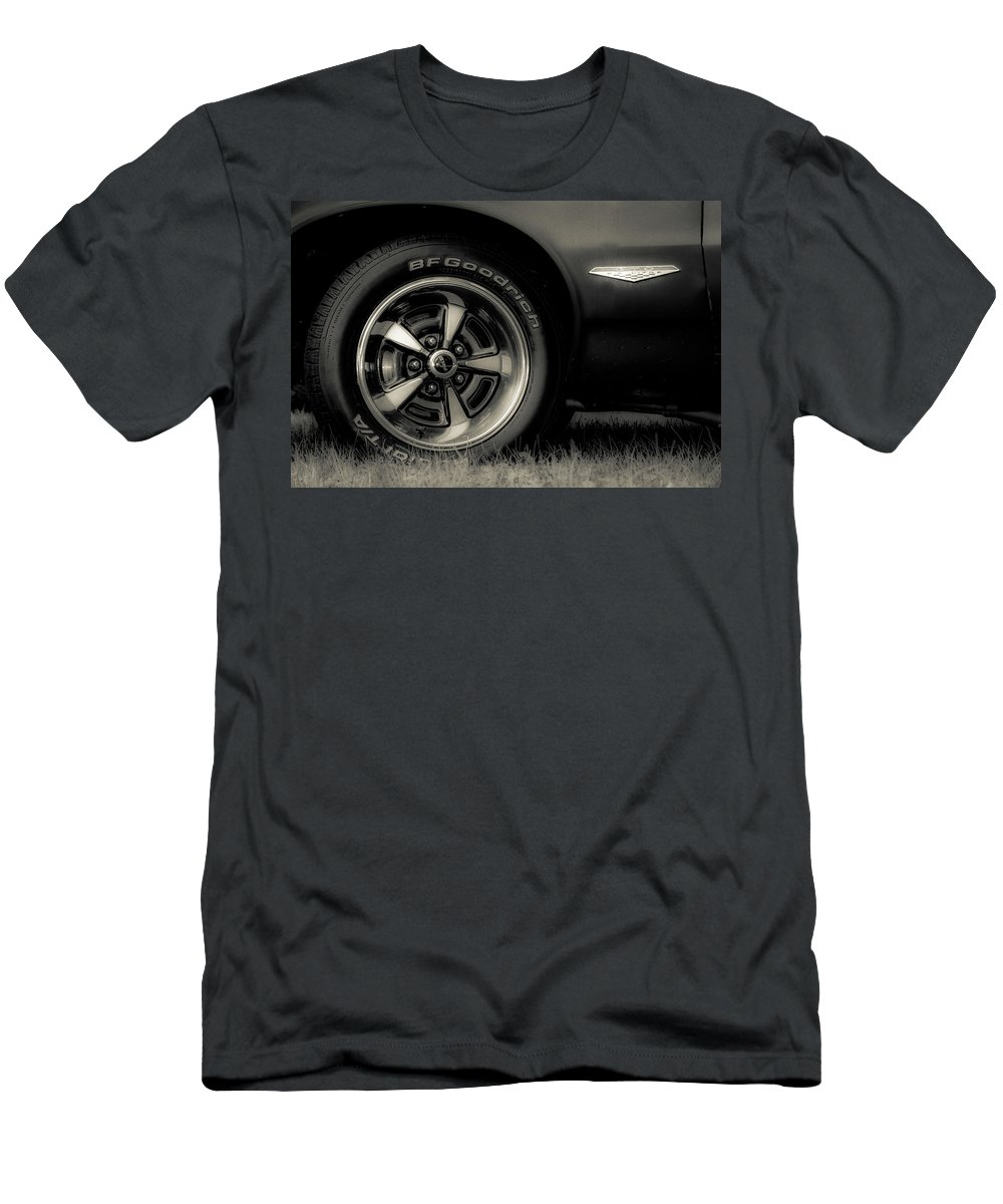 Classic Men's T-Shirt (Athletic Fit) featuring the photograph Classic Cars by Mickie Bettez