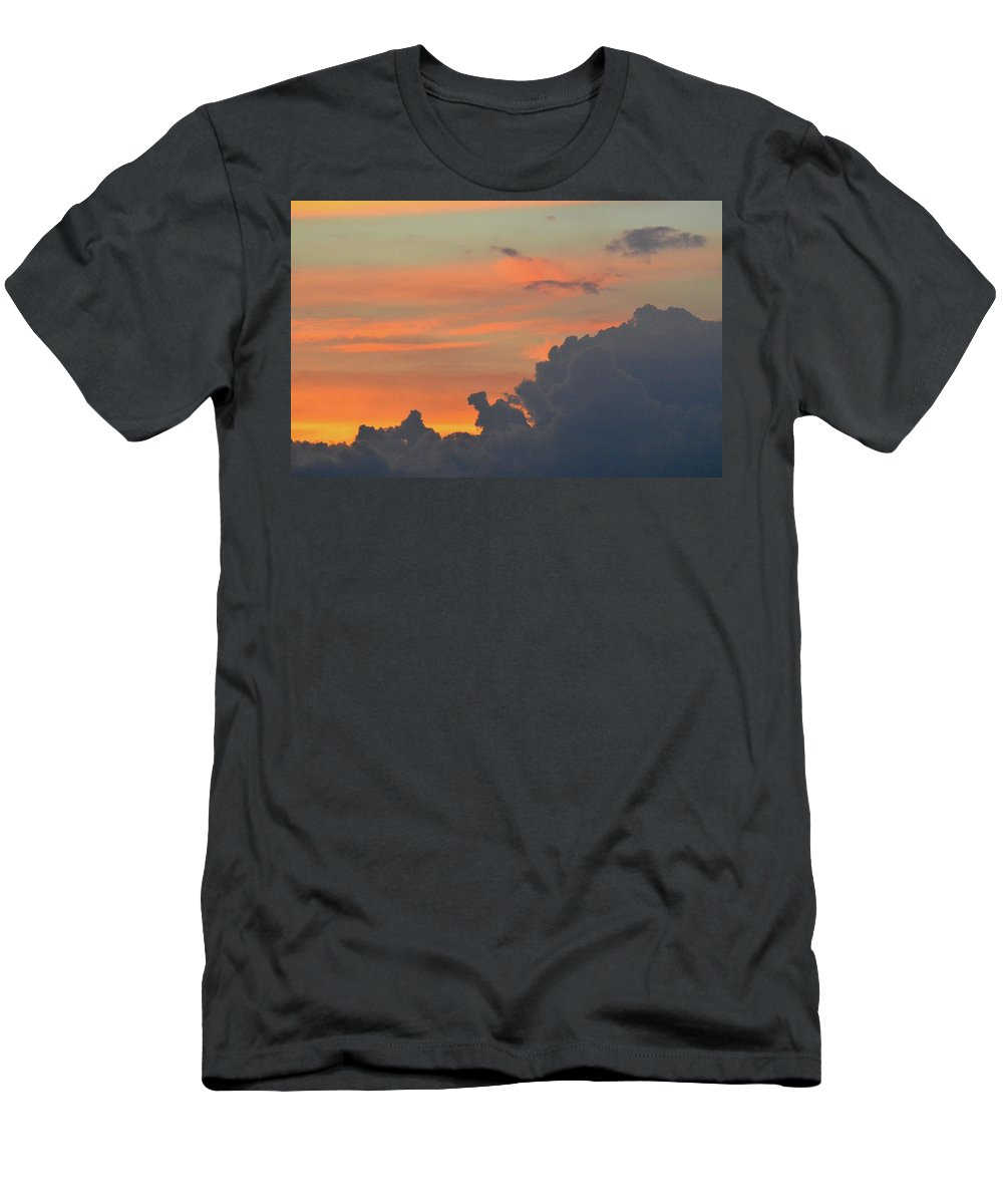 Abstract Men's T-Shirt (Athletic Fit) featuring the photograph 9.20.08 Pm July 6-2016 by Lyle Crump