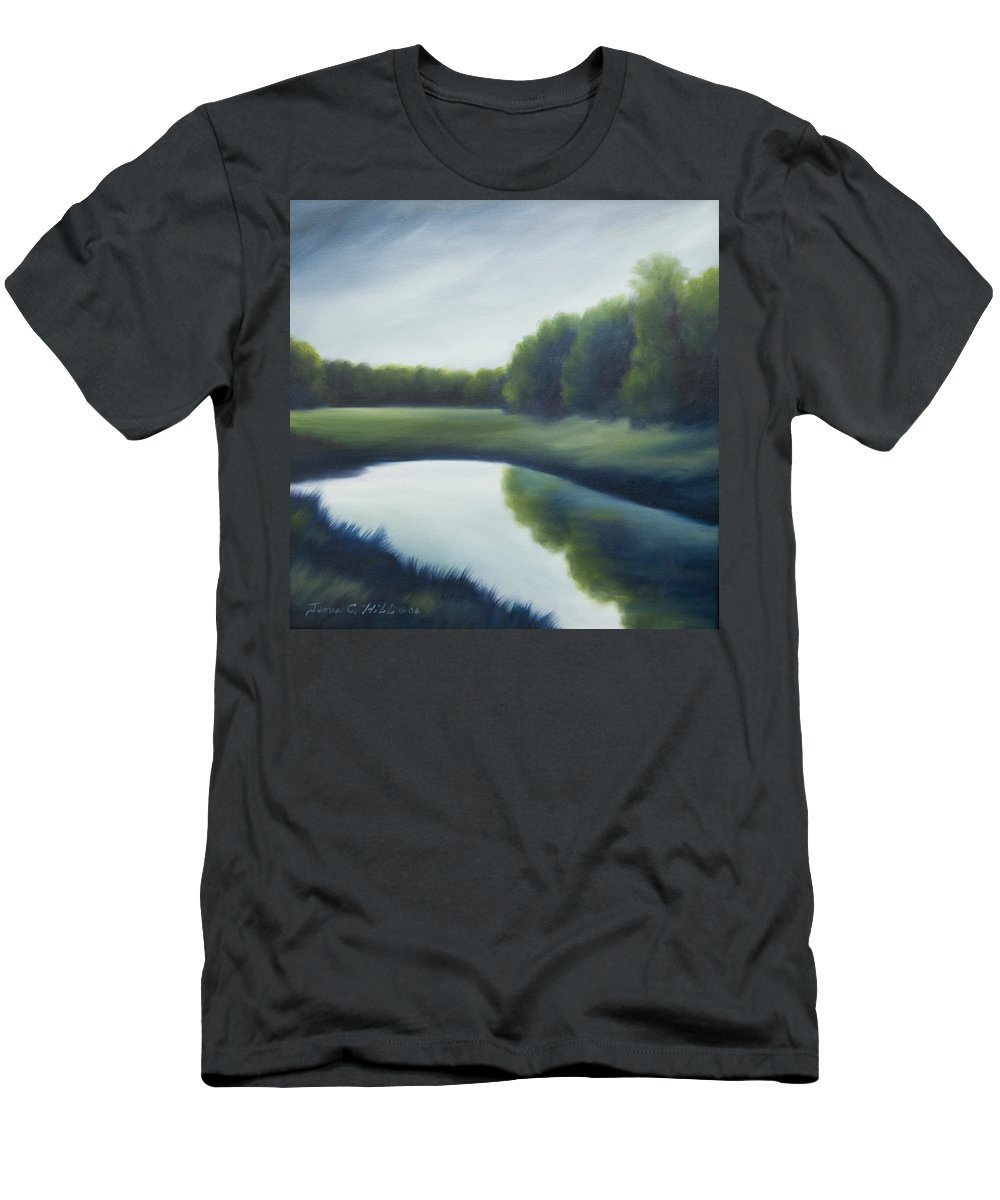 Clouds T-Shirt featuring the painting A Day In The Life 2 by James Christopher Hill