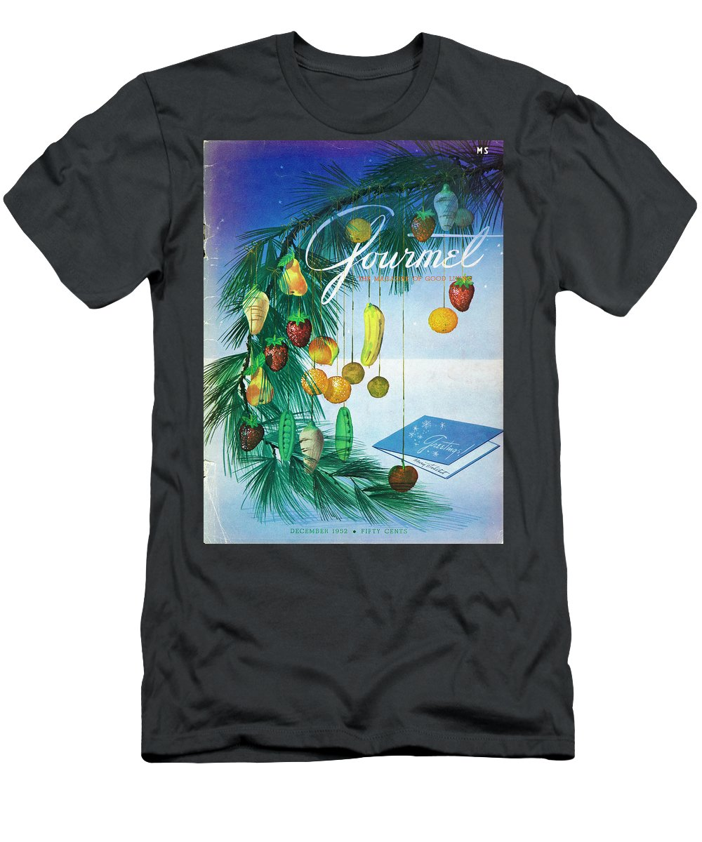 Food T-Shirt featuring the photograph A Gourmet Cover Of Marzipan Fruit by Henry Stahlhut
