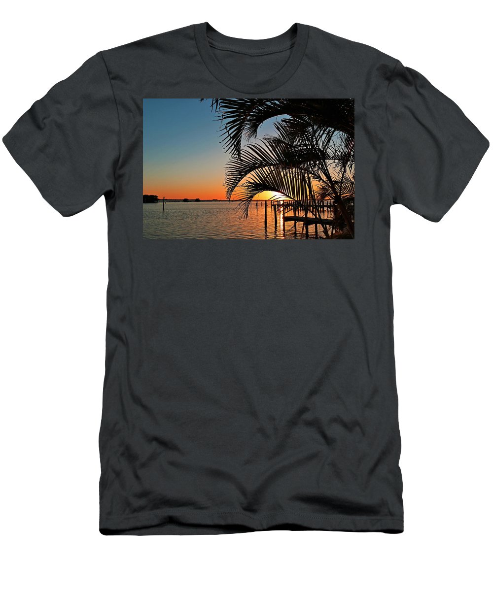 Sunset Men's T-Shirt (Athletic Fit) featuring the photograph A Taste Of Tequila by Michiale Schneider