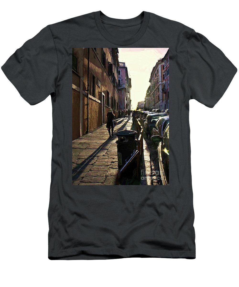 Shadows Men's T-Shirt (Athletic Fit) featuring the photograph A34 by Tom Griffithe