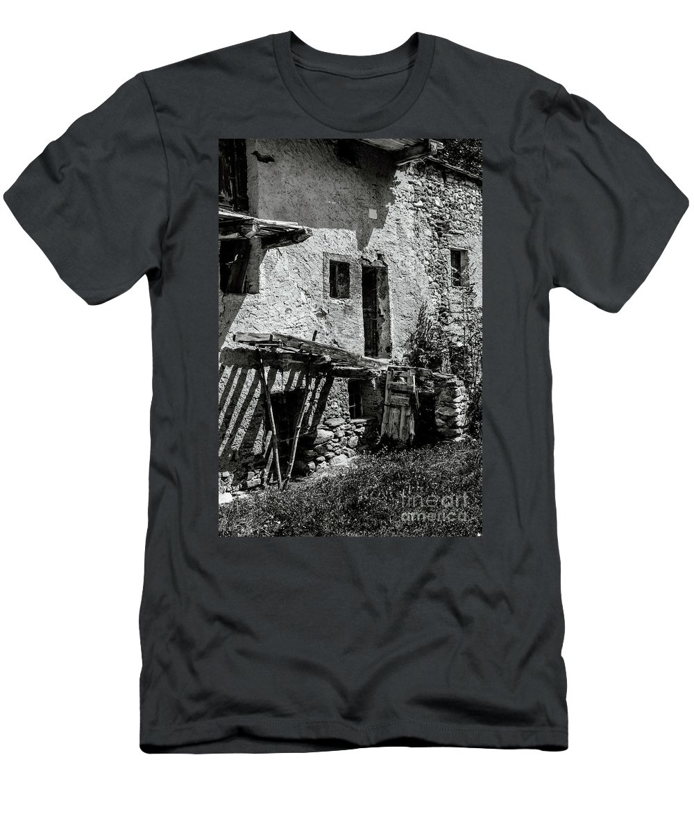 Abandoned Men's T-Shirt (Athletic Fit) featuring the photograph Abandoned Ix by Diego Muzzini