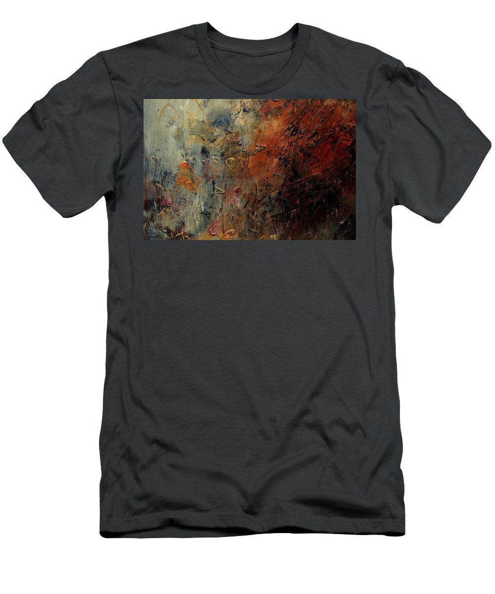 Abstract T-Shirt featuring the painting Abstract 900192 by Pol Ledent
