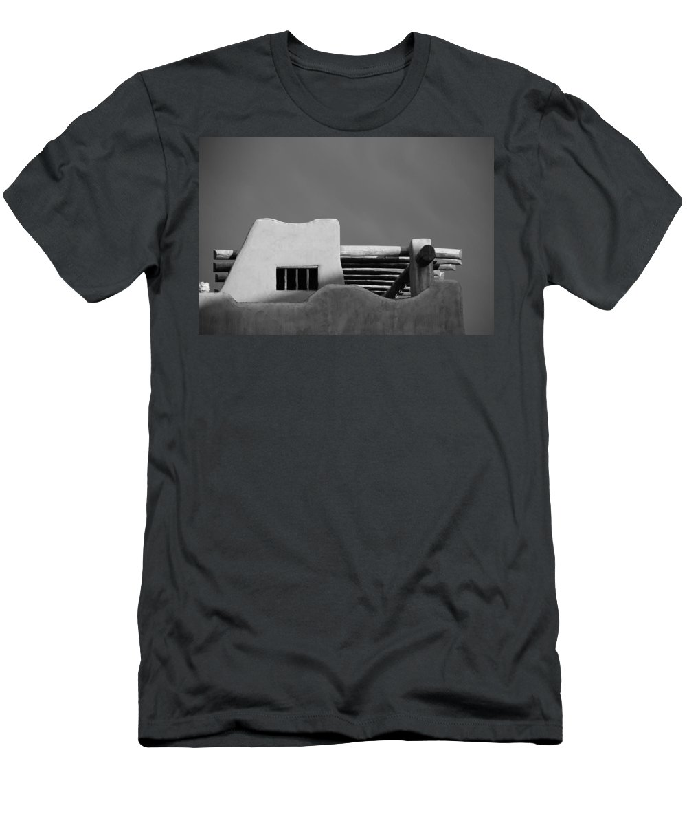 Architecture Men's T-Shirt (Athletic Fit) featuring the photograph Adobe Turrett by Rob Hans