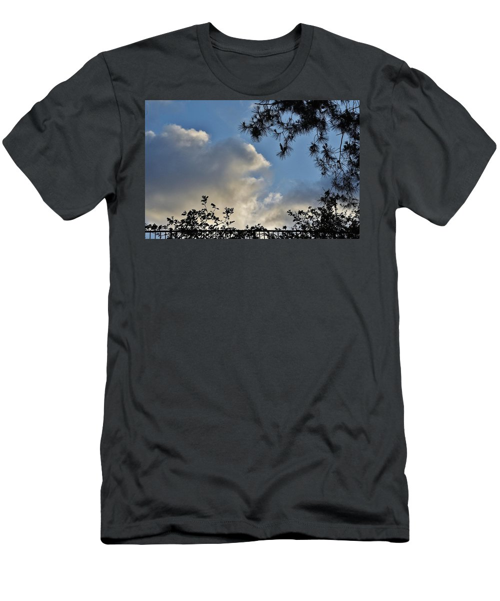 Linda Brody Men's T-Shirt (Athletic Fit) featuring the photograph After The Rain I by Linda Brody