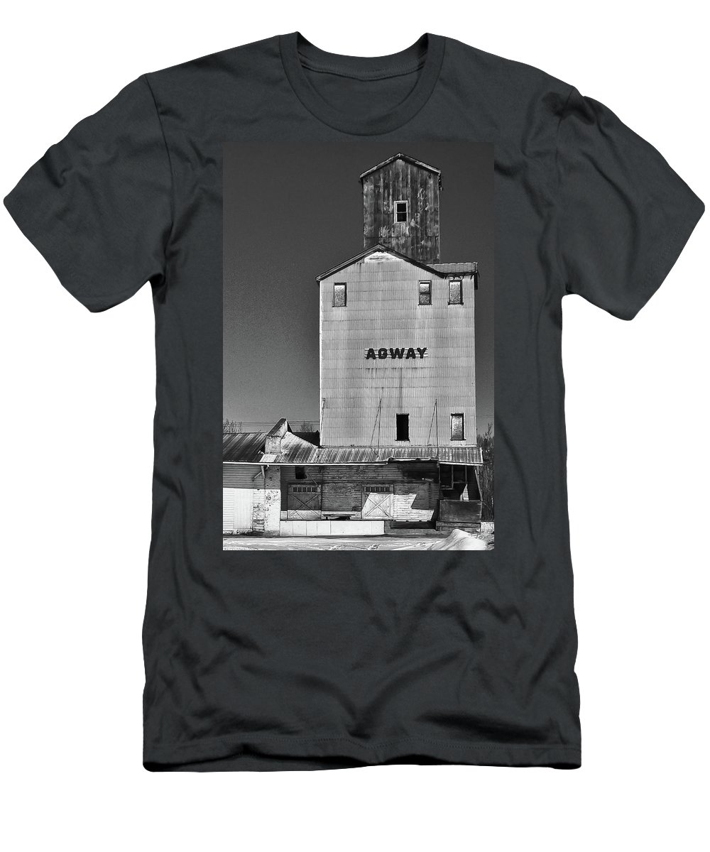 Barns Men's T-Shirt (Athletic Fit) featuring the photograph Agway - 6578 by Guy Whiteley