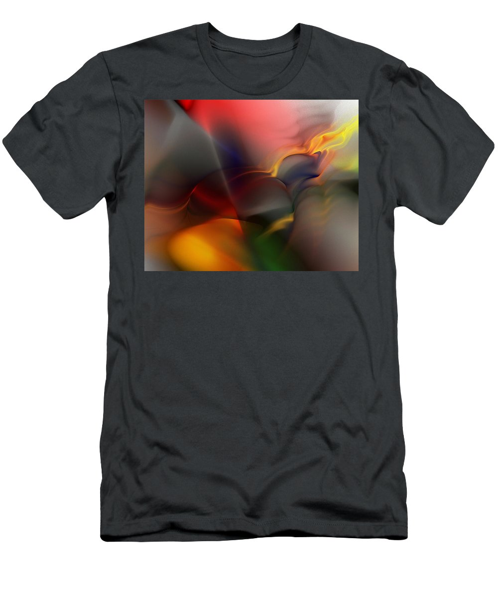 Digital Painting Men's T-Shirt (Athletic Fit) featuring the digital art Ai041010 by David Lane