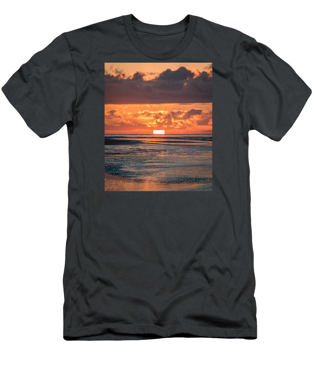 Sullivan's Island Men's T-Shirt (Athletic Fit) featuring the photograph Ain't Life Grand - Sullivan's Island Sc by Donnie Whitaker