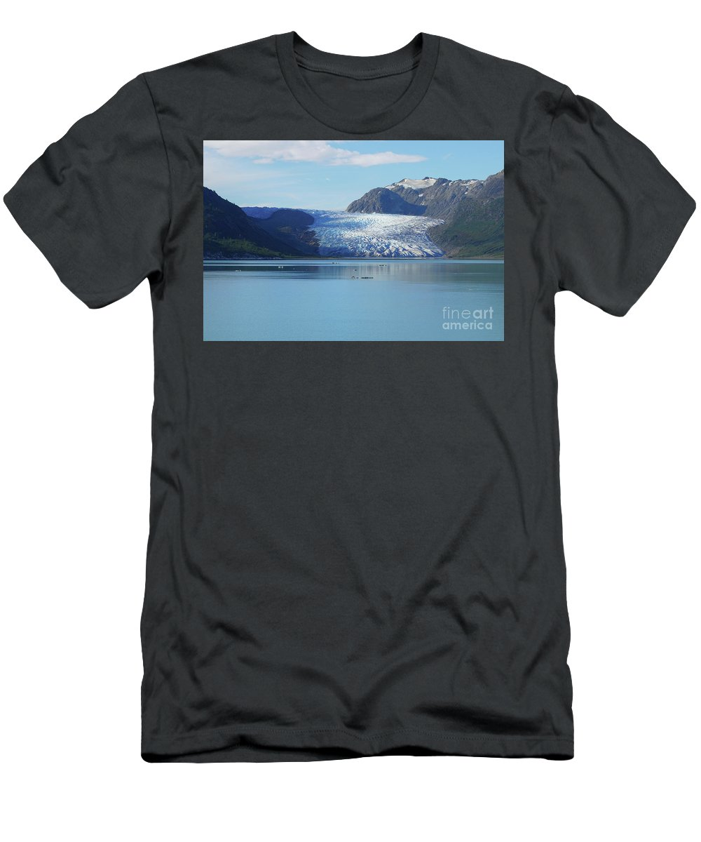 Nature Men's T-Shirt (Athletic Fit) featuring the photograph Alaska by Heather Titus