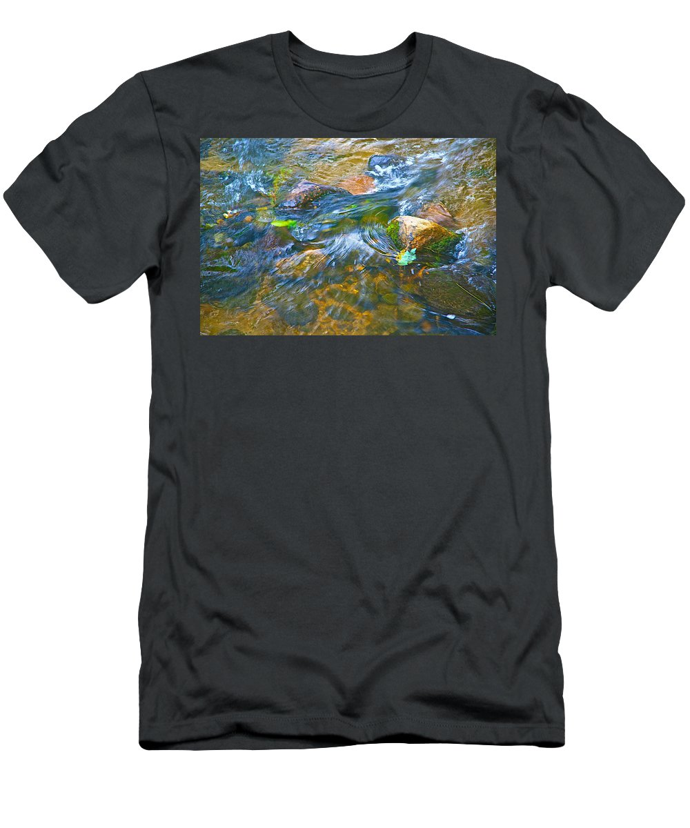 Color Men's T-Shirt (Athletic Fit) featuring the photograph All Those Colors by Robert Pearson