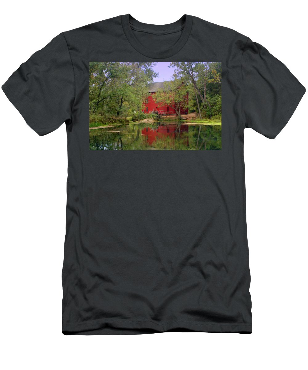 Alley Spring T-Shirt featuring the photograph Allsy Sprng Mill 2 by Marty Koch