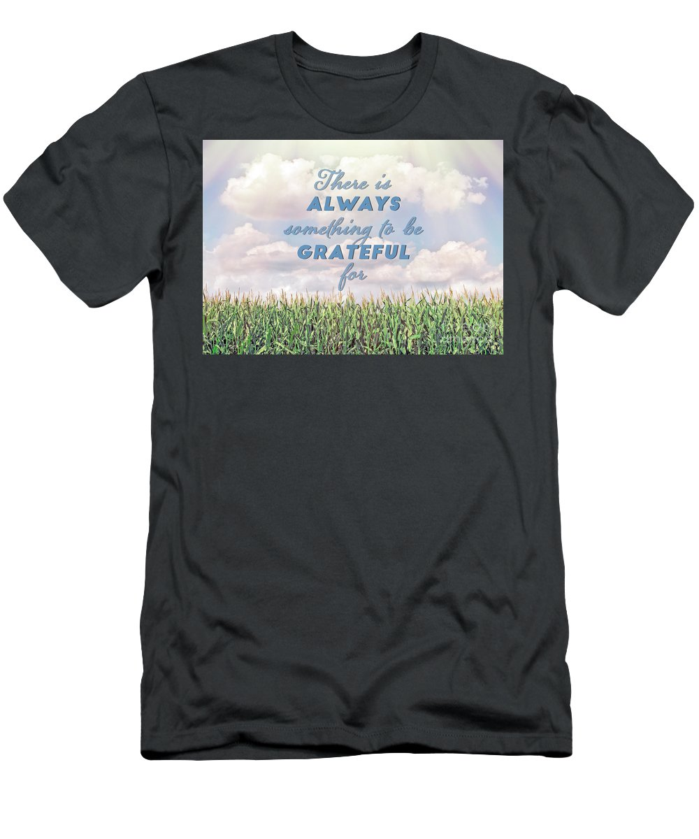 Thankful Men's T-Shirt (Athletic Fit) featuring the photograph Always Grateful by Hal Halli