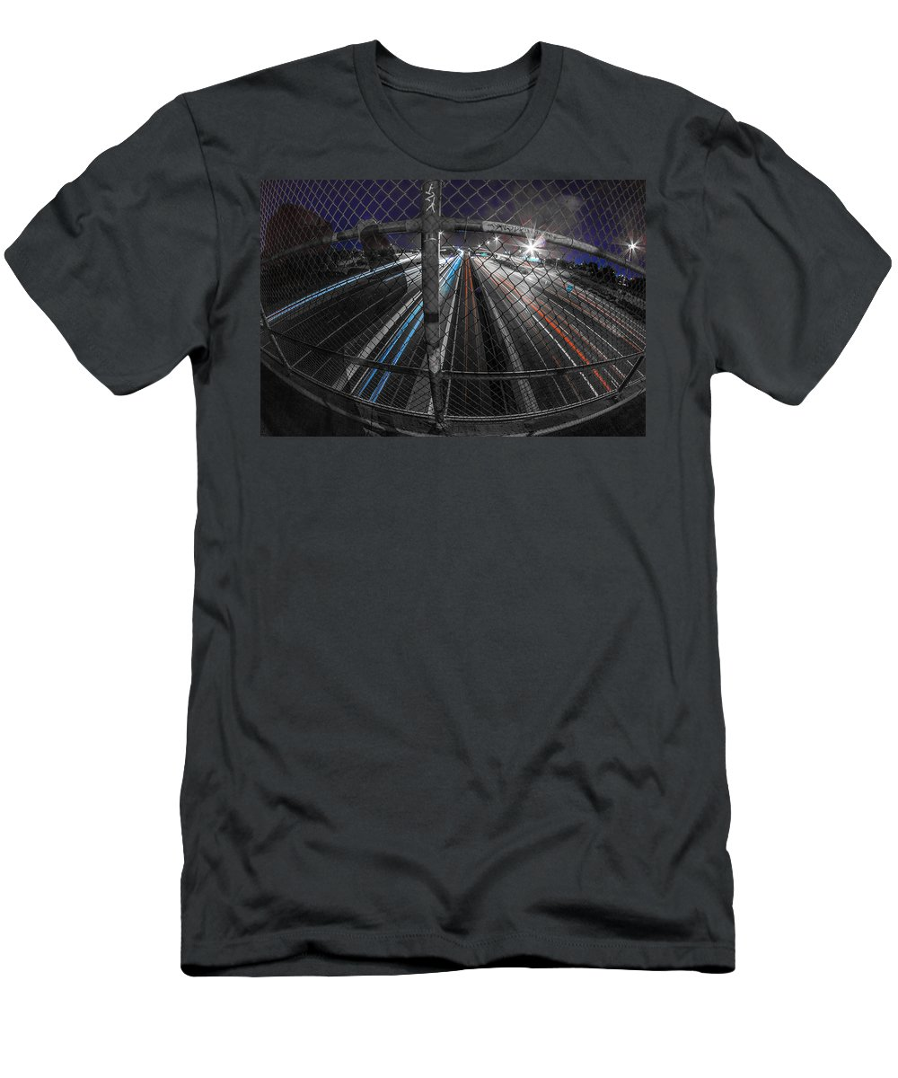 T-Shirt featuring the photograph American Highway by Kyle Field